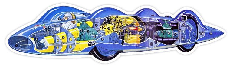 Bluebird CN7 cutaway