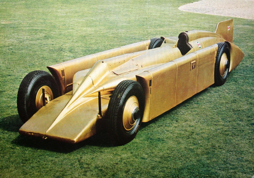 Golden Arrow land speed record car - Henry Segrave