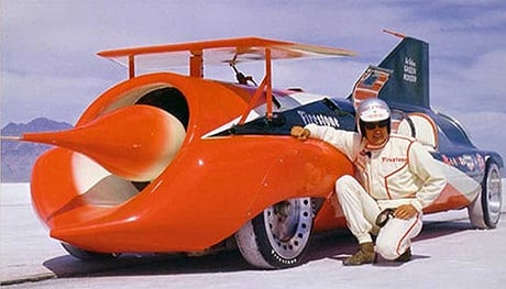 Read about Green Monster, the land speed record car driven by Art Arfons