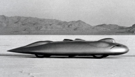 Read about the Railton Mobil Special land speed record car driven by John Cobb