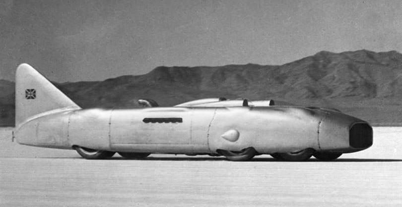 Land Speed Record >> Thunderbolt George Eyston Land Speed Record